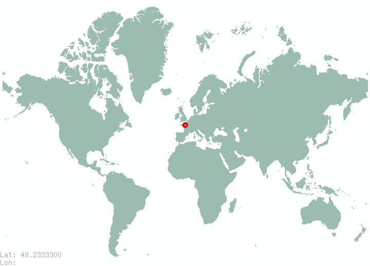 Gersthof in world map